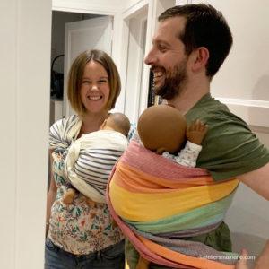 portage sling parents heureux ateliers mamané